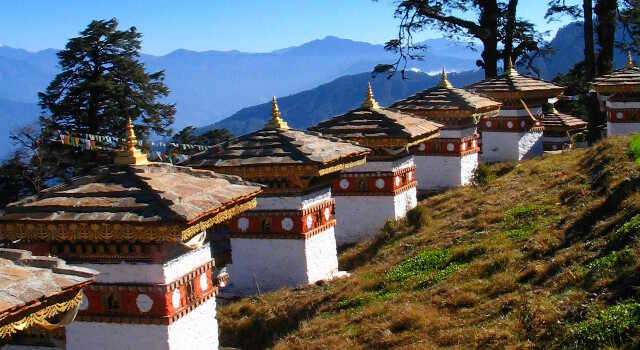 bicycle touring photo from Bhutan