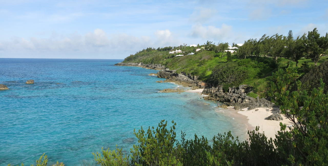 bicycle touring photo from Bermuda