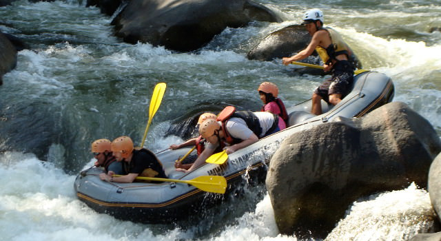 white water rafting in Chiang Mai