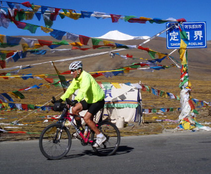 Bicycle touring in Tibet