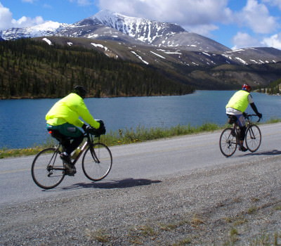 bicycle touring photo from Alaska