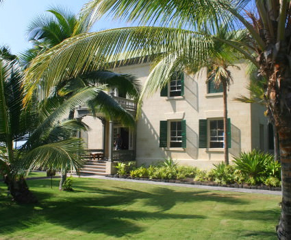The Hulilee Palace in historic Kailua town