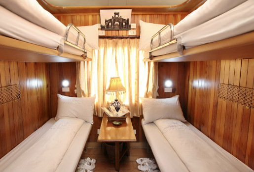 luxury accommodations on sapaly Train