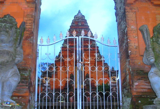 Temple gates in Ubud