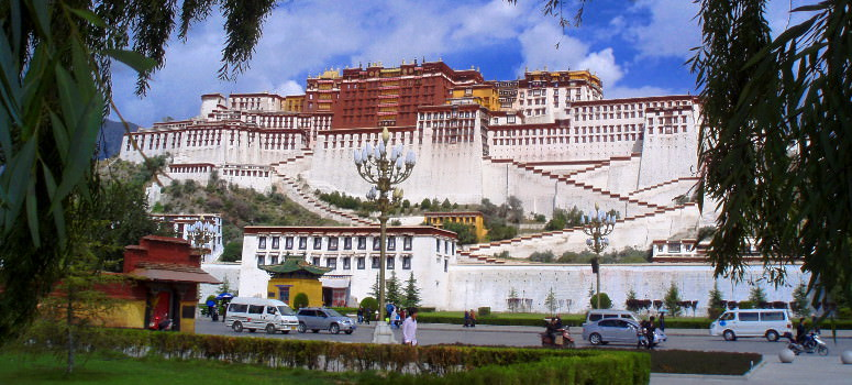 Potola Palace in Lhasa