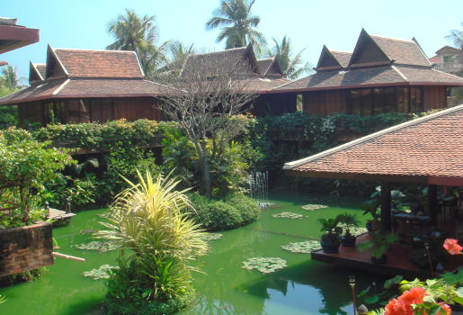 Luxurious lodging in Siem Reap