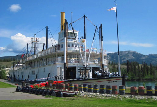 Historic steamwheeler in Whitehorse