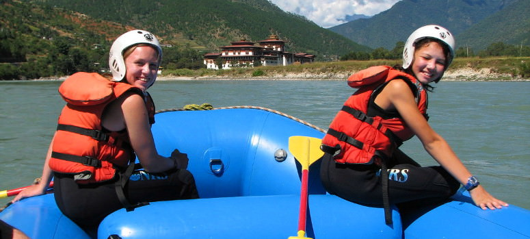 White Water rafting on Pho Chu River